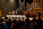 MLK Jr. Chapel/round table discussion